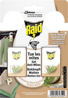 Raid Motten-Gel Zedern EDGES