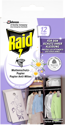 Raid Mottenschutz-Papier_DIGITAL EDGES