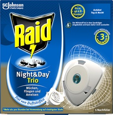 Raid Night & Day Trio Insektenstecker NachfA¦èller EDGES